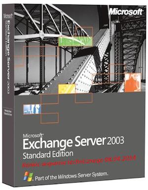 Microsoft Exchange 20013 - koniec wsparcia technicznego