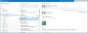 Interfejs programu Outlook Web App Exchange 2013