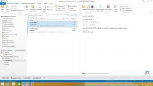 Foldery publiczne w programie Outlook 2013