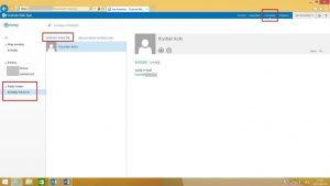 Folder publiczny typu Kontakty w OWA 2013