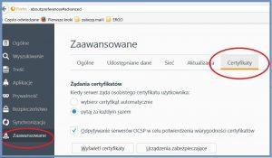 Szyfrowanie - Eksportowanie certyfikatu