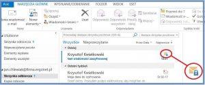 Szyfrowanie - Odebrana zaszyfrowana wiadomość