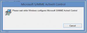 Szyfrowanie - Konfiguracja kontrolki Microsoft S MIME ActiveX