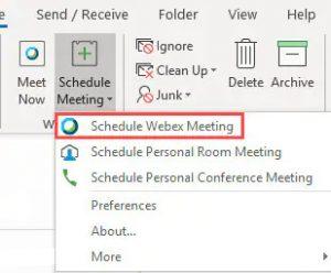 Utwórz spotkanie bezpośrednio w programie Outlook